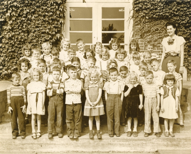Clay Elementary, Mrs. Toth's Class, 1950